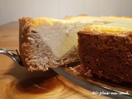 Käsekuchen – zuckerleicht und lecker