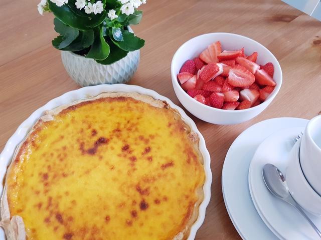 Vanille-Tartes mit Erdbeeren