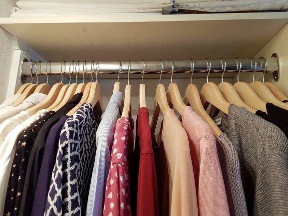 Kleiderschrank-Ordnung – kein Vorsatz für 2021