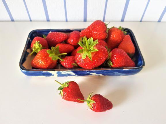 Erdbeeren – endlich